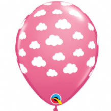 Clouds (Pink) - 11 Inch Balloons 25pcs